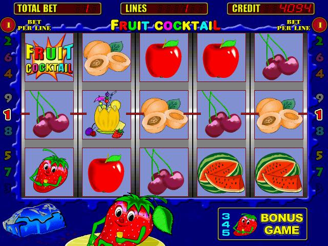 Игровой автомат Клубнички играть онлайн